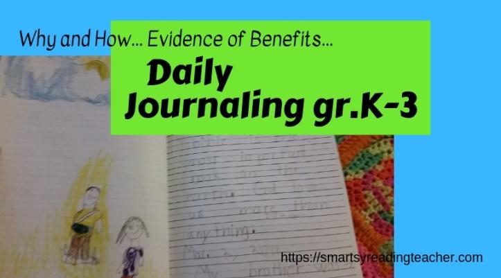 Journaling gr.K-3