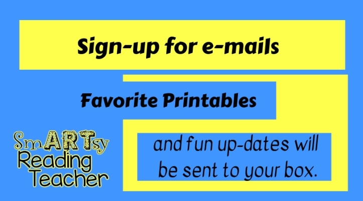 Sign-up for e-mails