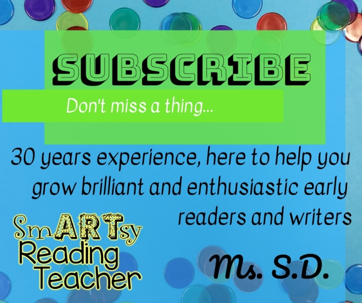Subscribe 30 years experience here to help you grow enthusiastic and brilliant early readers and writers