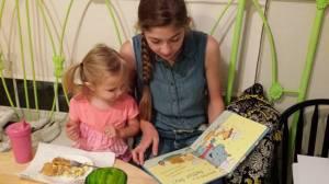 Enjoy books together.